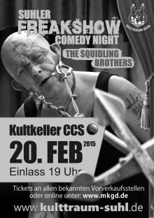 Freakshow Comedy Night